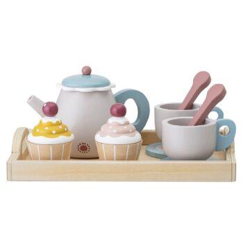 Bloomingville Tee-Set aus Holz