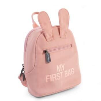Kinderrucksack 'My First Bag' mit niedlichen Hasenohren rosa von Childhome